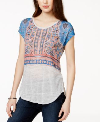 Lucky Brand Short-Sleeve Printed T-Shirt