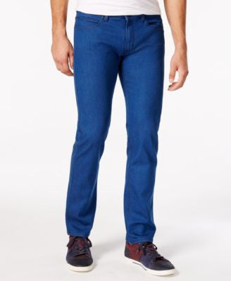 BOSS HUGO BOSS Men's 708 Slim-Fit Blue Wash Jeans