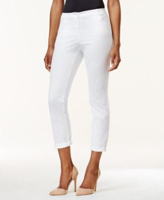 Charter Club Petite Cuffed Chino Pants, Only at Vogily