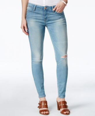 Tommy Hilfiger Ripped Light Wash Jeggings