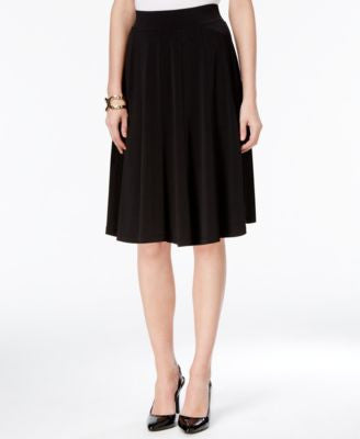 Grace Elements Pull-On A-Line Skirt