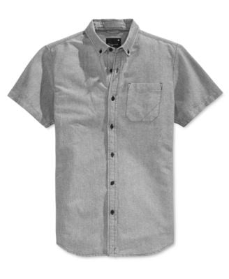 Tavik Men's Uncle Solid Short-Sleeve Shirt