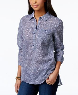 Tommy Hilfiger Printed Popover Shirt