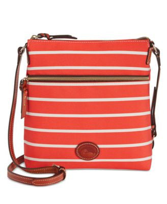 Dooney & Bourke Weekend Stripe Crossbody