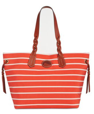Dooney & Bourke Stripe Weekend Shopper