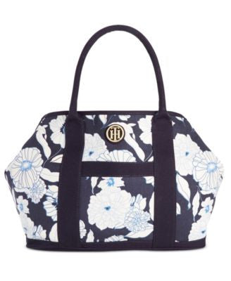 Tommy Hilfiger Floral Canvas TH Tote