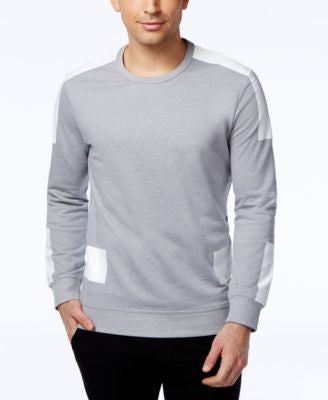 INC International Concepts Men's Deihl Colorblocked Long-Sleeve T-Shirt, Only at Vogily