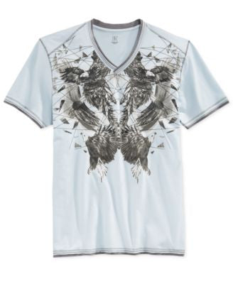 INC International Concepts Men's Shattered Eagles T-Shirt, Only at Vogily
