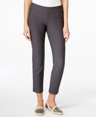 Eileen Fisher Petite Slim-Leg Pull-On Ankle Pants