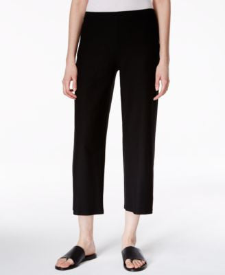 Eileen Fisher Cropped Straight-Leg Pants