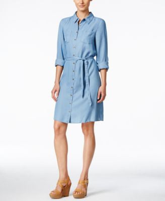 G.H. Bass & Co. Chambray Shirtdress