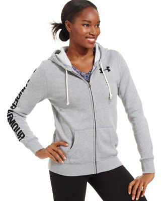 Under Armour Favorite Fleece Heathered Zippered Hoodie