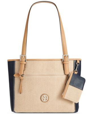 Giani Bernini Linen-Look Small Tote, Only at Vogily