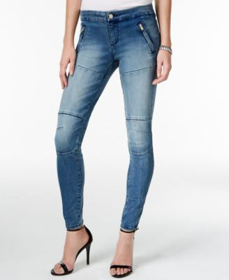 GUESS Athletic Indecent Wash Jeggings