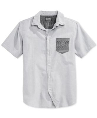 Retrofit Men's Aztec Pocket Short-Seeve Shirt