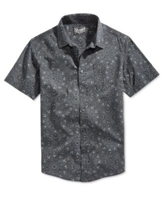 Retrofit Men's Bandana Short-Sleeve Shirt