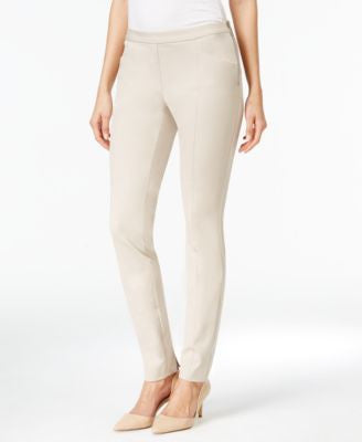 Alfani PRIMA Side-Zip Skinny Ankle Pants, Only at Vogily