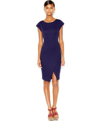 Bar III Ribbed Envelope Dress, Only at Vogily
