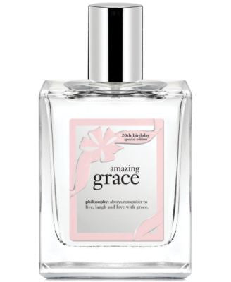 philosophy amazing grace 20th anniversary eau de toilette, 2 oz