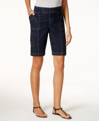 Lee Platinum Lola Orion Wash Bermuda Shorts