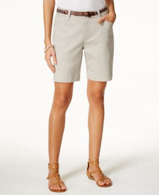Lee Platinum Classic-Fit Belted Shorts