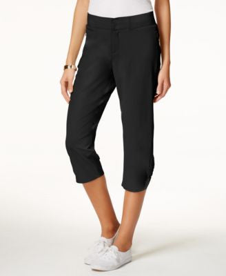 Lee Platinum Lucy Ruched Cropped Pants