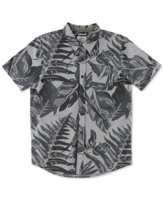 O'Neill Men's Figueroa Tropical-Print Short-Sleeve Shirt