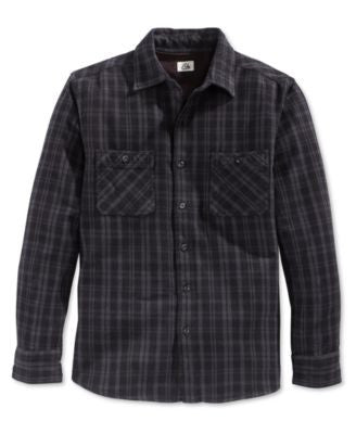 Quiksilver Men's Roachcontact Plaid Long-Sleeve Shirt
