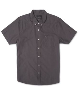 Rip Curl Men's Ourtime Solid Short-Sleeve Shirt