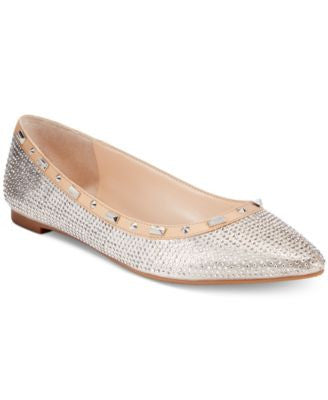 INC International Concepts Women's Zabbie Pointed-Toe Flats, Only at Vogily