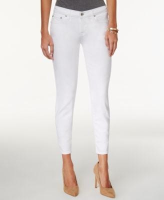 Big Star Alex Cropped White Wash Jeans