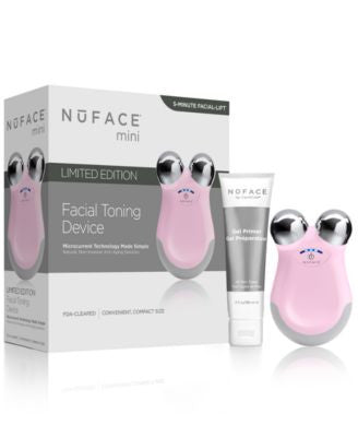 NuFACE® Mini Facial Toning Device in Petal Pink