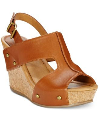 Kenneth Cole Reaction Sole-O Platform Wedge Sandals
