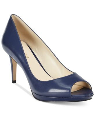 Nine West Gelabelle Peep-Toe Pumps