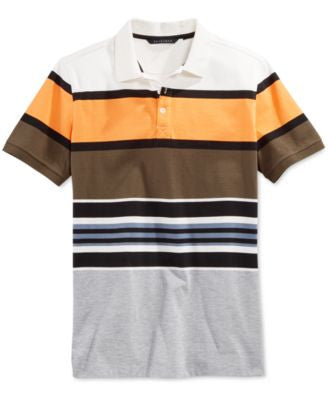 Sean John Men's Core Big & Tall Stripe Polo