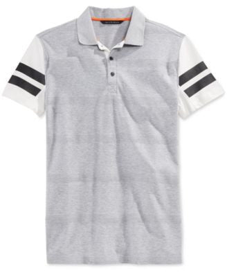 Sean John Men's Big & Tall Herringbone Stripe Polo