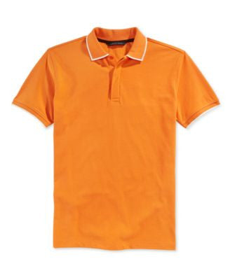 Sean John Men's Big & Tall Solid Core Polo