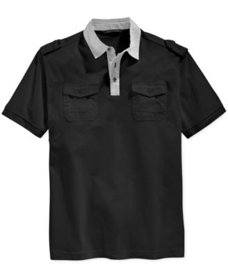 Sean John Men's Big & Tall Islander Polo Shirt