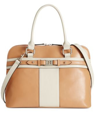 Giani Bernini Glazed Dome Satchel, Only at Vogily