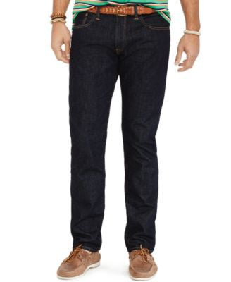 Polo Ralph Lauren Big and Tall Hampton Straight-Fit Rinse-Wash Jean