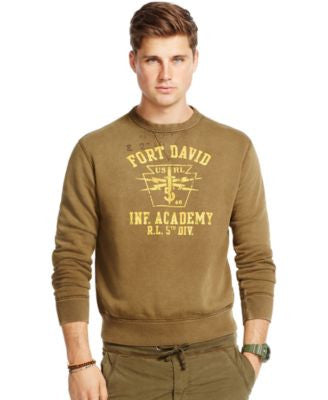 Polo Ralph Lauren Men's Military Crewneck Pullover