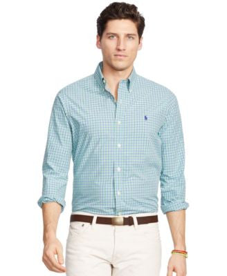 Polo Ralph Lauren Men's Men's Long Sleeve Poplin Shirt