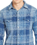 Polo Ralph Lauren Men's Plaid Western Shirt