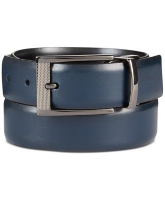 Alfani Men's Grained Reversible Belt, Only at Vogily