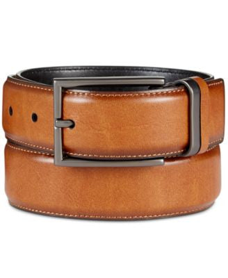 Alfani Men's Feather-Edge Belt, Only at Vogily