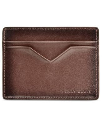 Perry Ellis Men's Leather Card Case