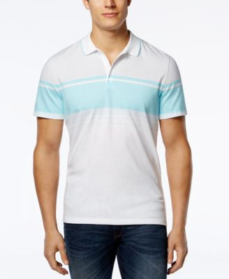 Alfani Men's Classic Fit Colorblocked Polo