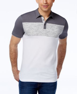 Alfani Men's Colorblocked Polo, Only at Vogily