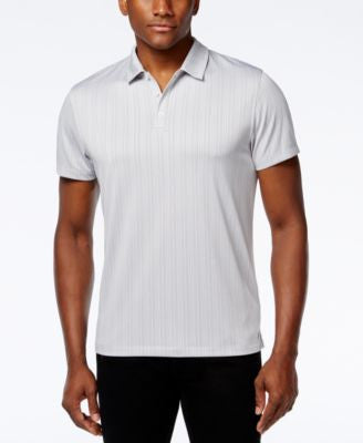 Alfani Men's Jaden Jacquard Polo, Only at Vogily