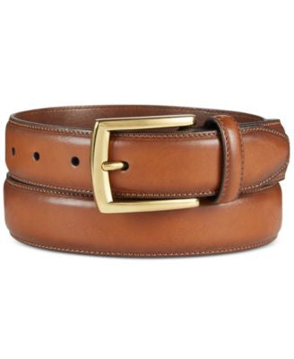 Club Room Men's Feather-Edge Belt, Only at Vogily